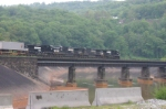 Crossing the Conemaugh River on the West Penn extension